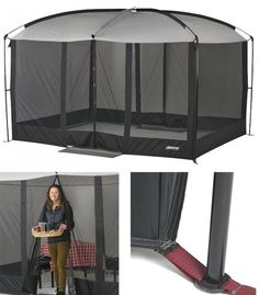 Portable Folding Screen House Screened Mesh Canopy Tent Mosquito Net C&ing NEW | Sporting Goods & Screen House Tent Shelter Screened Canopy Enclosure Patio Picnic ...