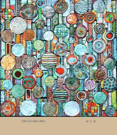 Michal Golan handmade tiles and mosaics.  Love these