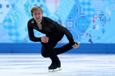 Evgeny Plyushchenko of Russia competes in the Men's Figure Skating Men's Free Skate during day one of the Sochi 2014 Winter Olympics at Iceb...