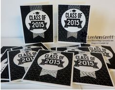 Class of 2015 cards.