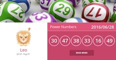 Leo lucky numbers for 2016/06/28. PIN/LIKE if accurate. #leo, #horoscope, #horoscopes, #astrology