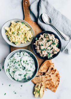 3 x salades voor op een toastje - Uit Pauline's Keuken