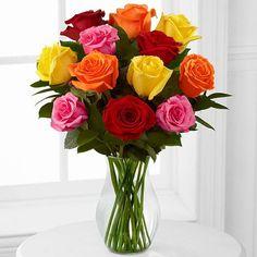 11. Kytica ruží mix