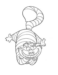 Classic Alice In Wonderland Coloring Pages