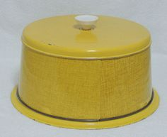 Vintage Metal Tin Retro Cake Carrier Keeper by Nesco