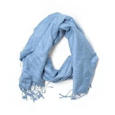 Pre-owned Pashmina Cashmere Scarf Size 00: Blue Women's Accessories (975 RUB) ❤ liked on Polyvore featuring accessories, scarves, blue, cashmere scarves, blue scarves, cashmere shawl and blue shawl