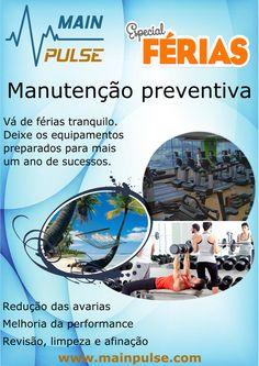 Manutenção preventiva equipamentos fitness - Especial férias