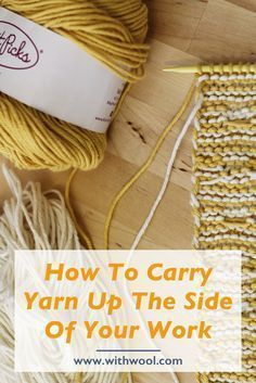 Spend your time knitting, not weaving in ends. Here's the final tutorial celebrating the Mosaic Sisters pattern! Today's tutorial is about how to carry yarns up the side of your work when you're knitting stripes. Doesn't matter if the stripes are narrow, wide, or take up less than a row.