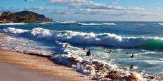 Makaha Beach, West Oahu, Hawaii. www.aloha-hawaiian.com #hawaii #oahu #oahubeaches #allinclusiveoahu #hawaiitravel