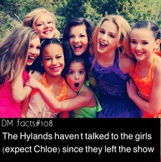Dance moms facts by dance moms fan page . . . . Little hyland facts spam! More is coming!