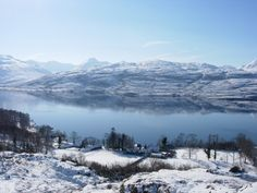 view south over loch maree