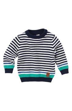De lækreste Name it Trøje Casper mini Mørkeblå Name it Cardiganer & trøjer til Børn & teenager i dejlige materialer