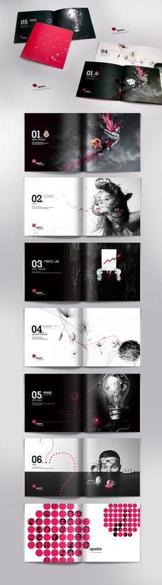 Cool brochure design
