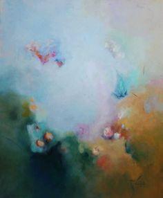 "Saatchi Online Artist: MARIA CECILIA FERNANDEZ DE ARROSPIDE; Oil, Painting ""Forest"""
