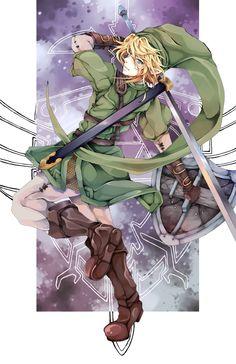Legend of Zelda - Hero of Time by Hodremlin
