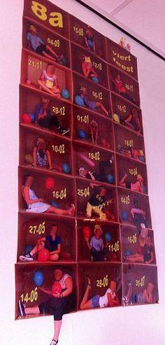 Afbeeldingsresultaat voor klassen kalender met foto's in doos I Love School, School Tool, School Hacks, School Classroom, School Teacher, Classroom Decor, Dolphin Craft, Teach Like A Champion, Birthday Calender