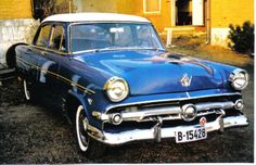 54 Ford Customline, I have the same one in winter storage.