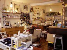 Le Rocketship- Paris. Boutique & coffee shop