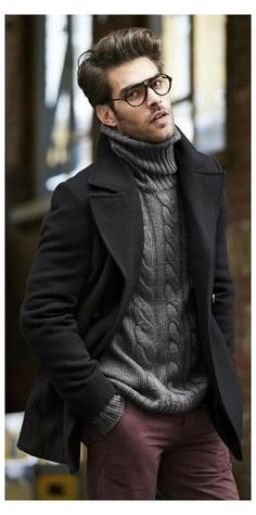 14 Insanely Cool Work Outfit Ideas That'll Help You Stand Out This Winter #grey #trousers #outfit #men #winter #greytrousersoutfitmenwinter Your Winter Work Wear Winter Maternity Outfits, Stylish Winter Outfits, Winter Outfits For Work, Winter Fashion Outfits, Casual Outfits, Work Outfits, Fashion Clothes, Fall Fashion, Fashionable Outfits