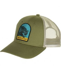 Great Bear Trucker Hat Olive C8186GM4MQX dca0d54d946e