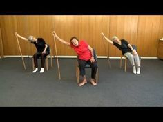 Senior Fitness - 99 year old keep fit teacher - Lesson 1 - YouTube