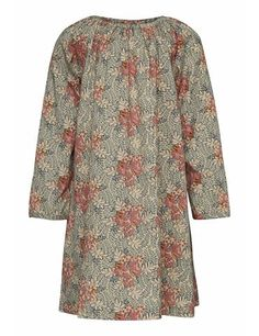 Dress with unique print - Light Slate