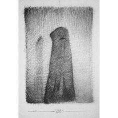 - Black ghost -  #art #drawing #illustration