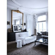 How To Decorate Like a Parisian ❤ liked on Polyvore featuring backgrounds