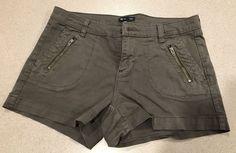 GAP Womens Olive Army Green Shorts Fashion Denim Comfortable Style Size 2  | eBay