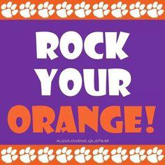 Rock your Orange!