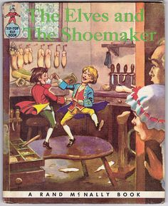 The Elves and the Shoemaker vintage Rand by ArcaniumAntiques