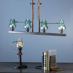 Telegraph Insulator Lighting Collection