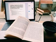 naughticals: tea and research // feeling awful so only low-impact study today