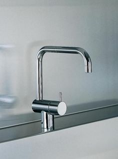 Vola - Kv8 Single-Feed One-Handle Deck-Mounted Basin Or Kitchen Faucet: Plumbtile