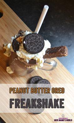 Peanut Butter Oreo FreakShake