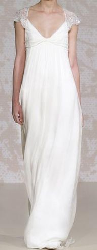 Jenny Packham ivory dress