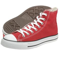 red high tops-my sister has these w/ blue laces