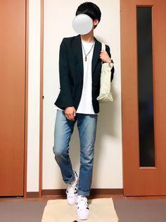 いつも見ていただきありがとうございます(^^) ジャケットコーデです! Blazer, How To Wear, Jackets, Fashion, Down Jackets, Moda, Fashion Styles, Blazers, Fashion Illustrations