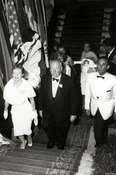 Alfred Hitchcock, Alma Reville. Festival Internacional de Cine de San Sebastián. 1958
