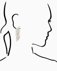 Glistening Dangle Earrings