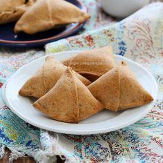 Baked Mung Dal Samosas and 12 Vegan Holi Recipes. Glutenfree Soyfree Options | Vegan Richa