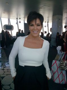 Another shot of Kris Jenner's haircut