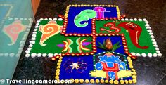 Creative Rangoli Designs to make your Diwali Special