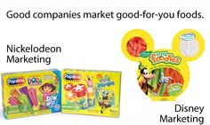 Good companies market good-for-you foods. Tell Nick to follow Disney's lead and stop marketing junk food to kids! https://secure2.convio.net/cspi/site/Advocacy?cmd=display=UserAction=1367
