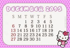 Free Printable Calendar July 2020 It's New Year and we have another great design and template of our calendar for this 2020 and in this Ju. Free Printable Calendar, Free Printables, Creative Calendar, Hello Kitty, December, 2015 Calendar, House, Ideas, Places