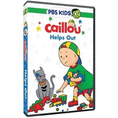 REVIEW by @tessa42484 -  Caillou Helps Out on DVD!