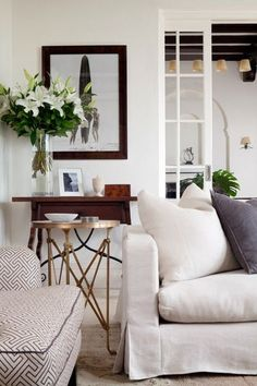 Neutral interiors - creams and off white
