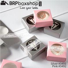 Wedding Favor Oreo Cookies Favorbox Weddingfavors Silver Pink Chococlatecoveredoreos