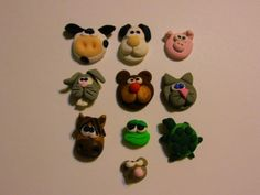 animal characters...can be combined with any family ornament...don't forget your pets!
