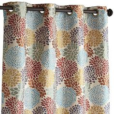 Pier 1: Bloom Garden Curtain - White